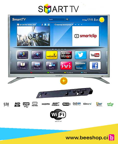 NASCO TV LED HD